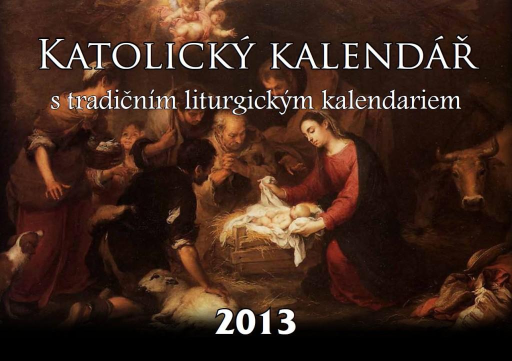 Titulní strana kalendáře